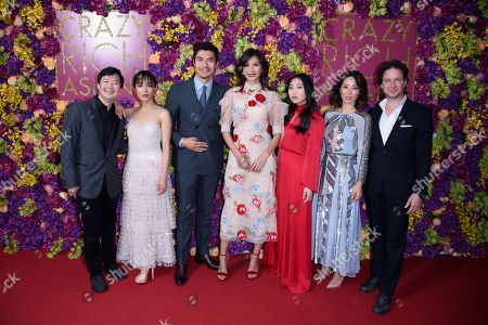 Editorial image of 'Crazy Rich Asians' film photocall, London, UK - 04 Sep 2018