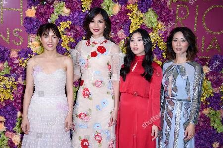 Constance Wu, Gemma Chan, Awkwafina, Jing Lusi