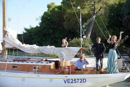 Cristiana Capotondi, Anna Ferzetti, Paul Cayard, Paolo Genovese