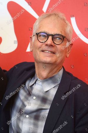 Cinematographer Caleb Deschanel poses for photographers at the photo call for the film 'Never Look Away' at the 75th edition of the Venice Film Festival in Venice, Italy