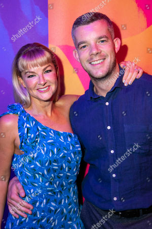 Sarah Hadland (Sofia) and Russell Tovey