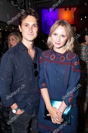 Ben Lloyd-Hughes and Emily Berrington