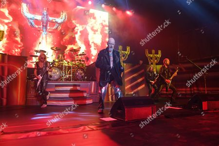 Richie Faulkner, Scott Travis, Rob Halford, Andy Sneap, Ian Hill
