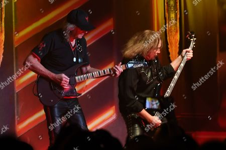 Editorial image of Judas Priest in concert at the Jones Beach Theater, Wantagh, USA - 01 Sep 2018