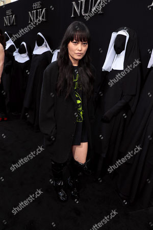 Editorial photo of New Line Cinema's world film premiere of 'The Nun' at TCL Chinese Theatre, Los Angeles, USA - 4 Sep 2018