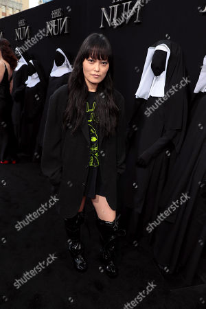 Editorial image of New Line Cinema's world film premiere of 'The Nun' at TCL Chinese Theatre, Los Angeles, USA - 4 Sep 2018