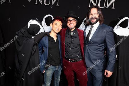 James Wan, Producer, Corin Hardy, Director, Gary Dauberman, Writer/Executive Producer,