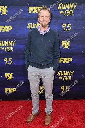 "David Hornsby attends the LA Premiere of ""It's Always Sunny in Philadelphia"" Season 13 at the Regency Bruin Theatre, in Los Angeles"