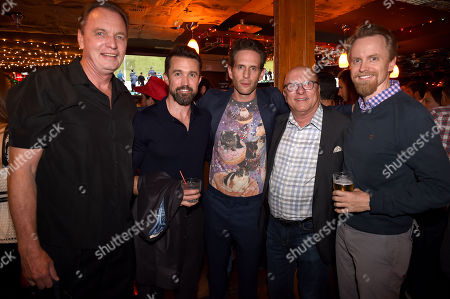 Stock Image of Gregory Scott Cummins, Rob McElhenney, Glenn Howerton, Tom Lofaro, David Hornsby