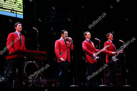 Editorial photo of 'Jersey Boys' media call, Capitol Theatre, Sydney, Australia - 05 Sep 2018