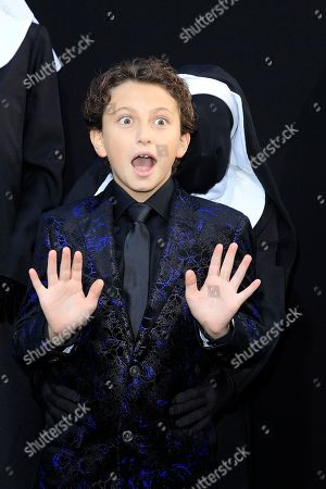 US actor/cast member August Maturo arrives at the world premiere of 'The Nun' at the TCL Chinese Theatre IMAX in Los Angeles, California, USA, 04 September 2018. The movie opens in the USA on 07 September 2018.
