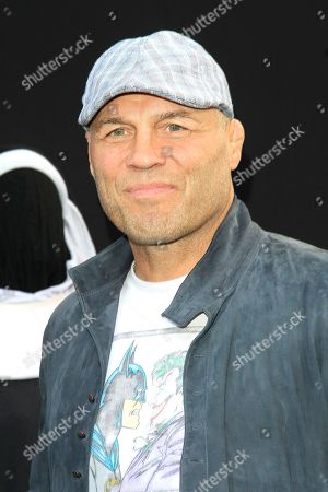 US actor/wrestler Randy Couture arrives at the world premiere of 'The Nun' at the TCL Chinese Theatre IMAX in Los Angeles, California, USA, 04 September 2018. The movie opens in the USA on 07 September 2018.
