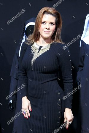 Venezuelan-American actress, TV host, singer and beauty queen Alicia Machado arrives at the world premiere of 'The Nun' at the TCL Chinese Theatre IMAX in Los Angeles, California, USA, 04 September 2018. The movie opens in the USA on 07 September 2018.