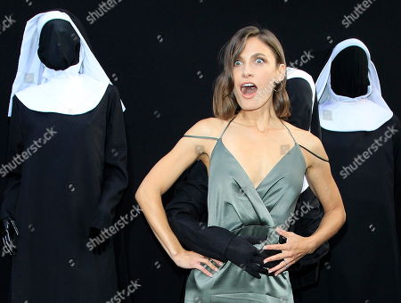 US actress/cast member Lili Bordan arrives at the world premiere of 'The Nun' at the TCL Chinese Theatre IMAX in Los Angeles, California, USA, 04 September 2018. The movie opens in the USA on 07 September 2018.