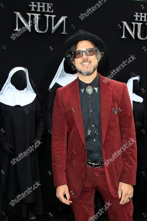 Stock Image of British director Corin Hardy arrives at the world premiere of 'The Nun' at the TCL Chinese Theatre IMAX in Los Angeles, California, USA, 04 September 2018. The movie opens in the USA on 07 September 2018.