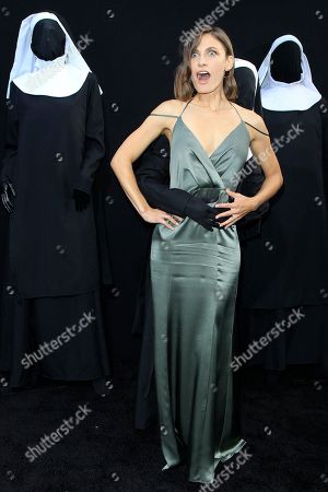 Stock Picture of US actress/cast member Lili Bordan arrives at the world premiere of 'The Nun' at the TCL Chinese Theatre IMAX in Los Angeles, California, USA, 04 September 2018. The movie opens in the USA on 07 September 2018.
