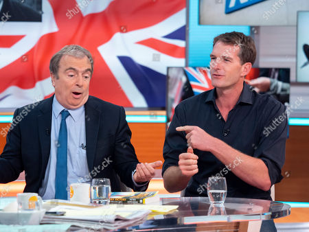 Stock Image of Peter Hitchens and Dan Snow