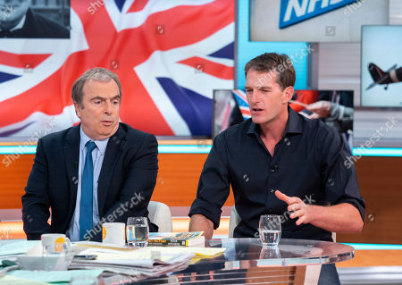 Stock Picture of Peter Hitchens and Dan Snow