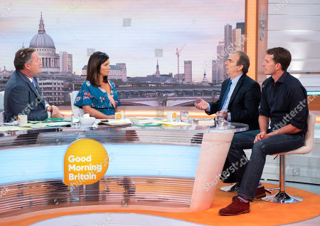 Editorial photo of 'Good Morning Britain' TV show, London, UK - 05 Sep 2018