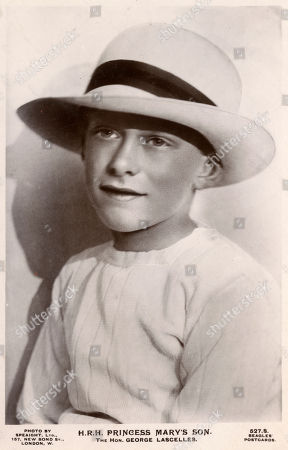 The Hon. George Henry Hubert Lascelles (later the 7th Earl of Harewood) (1923-2011) - Son of Princess Mary Princess Royal and Countess of Harewood (1897-1965). He Succeeded to His Father's Earldom On 24 May 1947. Beagles' Postcard