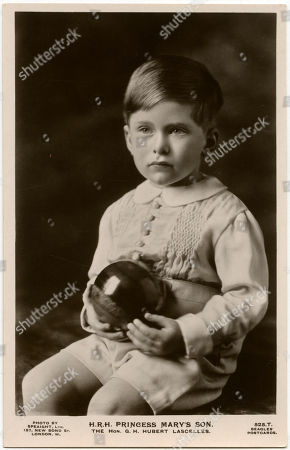 George Henry Hubert Lascelles 7th Earl of Harewood Kbe Am (7 February 1923 - 11 July 2011) Styled the Hon. George Lascelles Before 1929 and Viscount Lascelles Between 1929 and 1947 - the Elder Son of the 6th Earl of Harewood and Princess Mary Princess Royal the Only Daughter of King George V and Queen Mary. Photo by Speaight On A Beagles' Postcard
