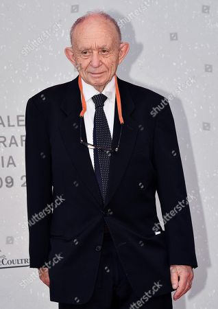 Stock Photo of US filmmaker Frederick Wiseman arrives for the premiere of the restored movie 'L'annee derniere a Marienbad' (Last Year at Marienbad) during the 75th annual Venice International Film Festival, in Venice, Italy, 05 September 2018. The festival runs from 29 August to 08 September 2018.