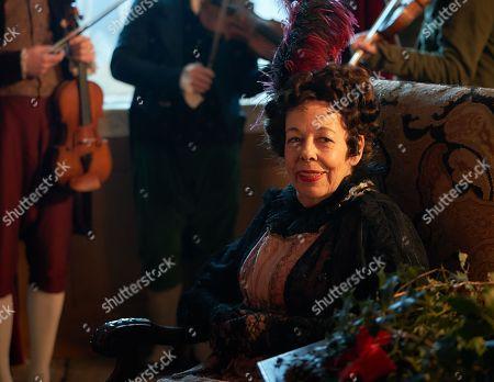 Frances de la Tour as Lady Matilda Crawley.