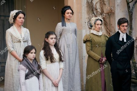 Olivia Cooke as Becky Sharp, Sian Clifford as Martha Crawley, Mathew Baynton as Bute Crawley plus supporting cast.