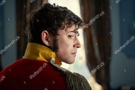 Charlie Rowe as George Osbourne.