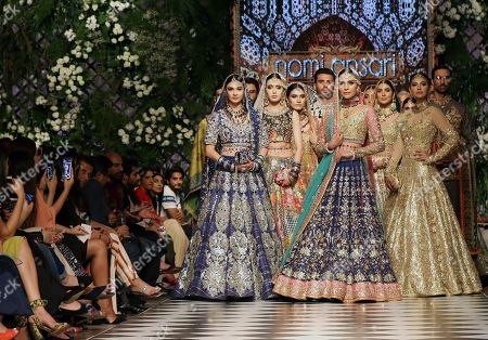 Editorial picture of Nomi Ansari - Runway - PFDC Fashion Week in Lahore, Pakistan - 04 Sep 2018