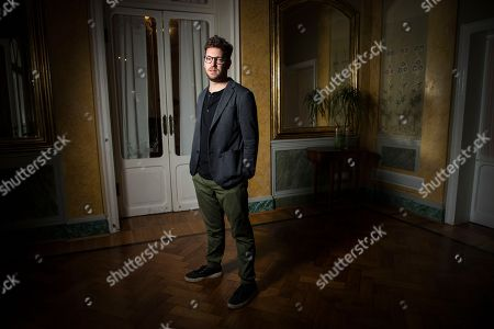 Stock Image of Gonzalo Tobal poses for portraits for the film Acusada, at the 75th edition of the Venice Film Festival in Venice, Italy