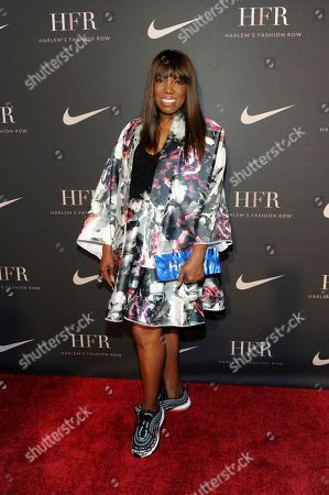 Stock Picture of Essence magazine editor-at-large Mikki Taylor attends a fashion show and awards ceremony held by the Harlem Fashion Row collective and Nike before the start of New York Fashion Week