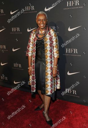 Honoree Bethann Hardison, fashion activist and model, attends a fashion show and awards ceremony held by the Harlem Fashion Row collective and Nike before the start of New York Fashion Week