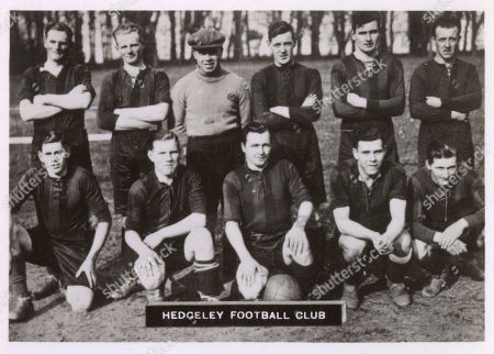 Editorial picture of Hedgeley Fc Football Team 1934-1935
