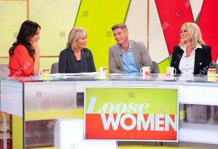 Andrea McLean, Linda Robson, Philip Olivier and Jennifer Ellison