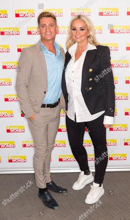 Stock Photo of Philip Olivier and Jennifer Ellison