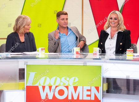 Linda Robson, Philip Olivier and Jennifer Ellison