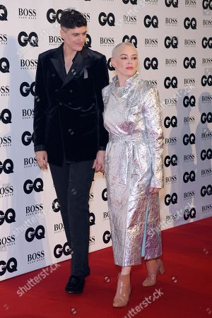 Rain Dove and Rose McGowan