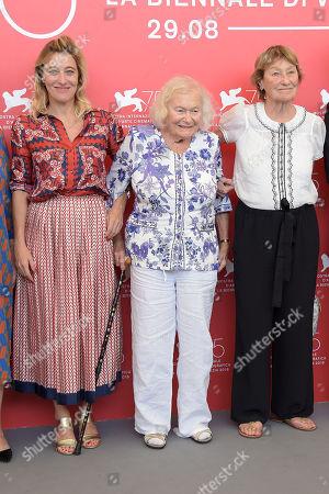 Valeria Bruni Tedeschi, Jenny Bellay and Marisa Borini