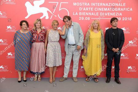 Valeria Bruni Tedeschi, Valeria Golino, Riccardo Scamarcio, Yolande Moreau, Bruno Raffaelli, Noémie Lvovsk