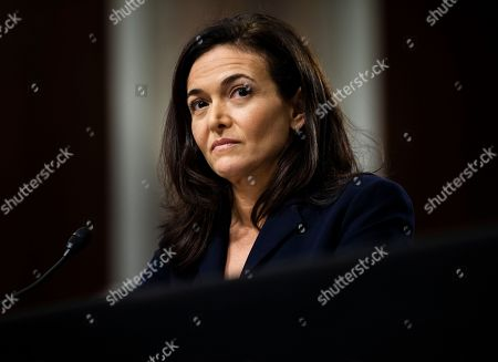 Editorial image of Twitter and Facebook CEOs testify in Senate on Russia and censorship, Washington, USA - 05 Sep 2018