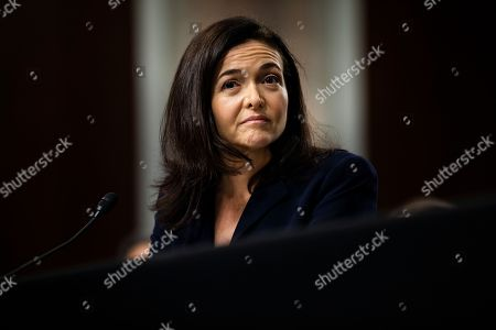 Editorial picture of Twitter and Facebook CEOs testify in Senate on Russia and censorship, Washington, USA - 05 Sep 2018