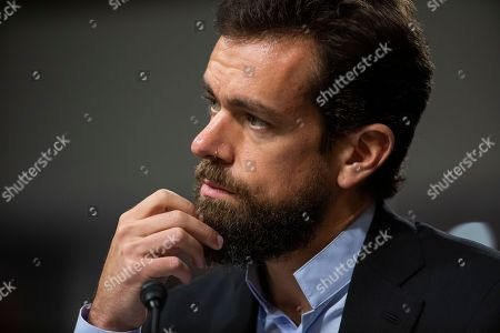 Editorial photo of Twitter and Facebook CEOs testify in Senate on Russia and censorship, Washington, USA - 05 Sep 2018