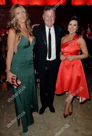 Celia Walden, Piers Morgan and Susanna Reid