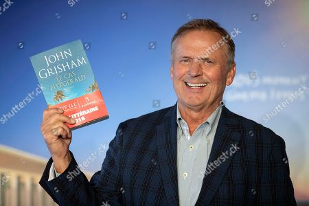 US writer John Grisham poses for photographers during the photocall as winner of the Lucien Barriere literary award for his novel 'Camino Island' during the 44th Deauville American Film Festival, in Deauville, France, 05 September 2018. The festival runs from August 31 to September 11.
