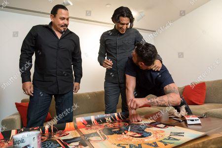 Emilio Rivera, Richard Cabral, Clayton Cardenas