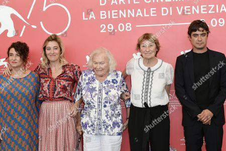 Noemie Lvovsky, Valeria Bruni Tedeschi con la mamma Marisa Borini, Jenny Bellay, Riccardo Scamarcio