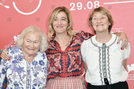 Valeria Bruni Tedeschi, Marisa Borini, Jenny Bellay