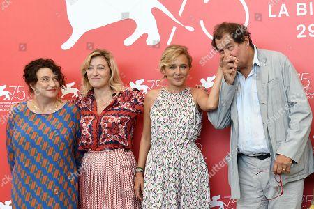 Valeria Bruni Tedeschi, Noemie Lvovsky, Jenny Bellay, Bruno Raffaelli, Yolande Moreau, Riccardo Scamarcio