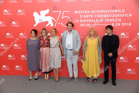 Noèmi Lvovsky, Valeria Bruni Tedeschi, Valeria Golino, Bruno Raffaelli, Yolande Moreau, Riccardo Scamarcio